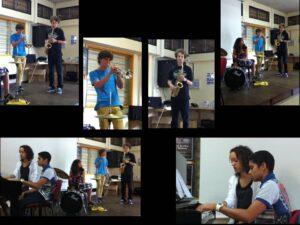musiciens en action